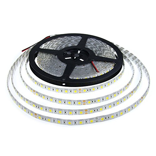 alitove dc 24v 5050 smd led flexible strip light warm white 10m 600 leds 60leds m ip65. Black Bedroom Furniture Sets. Home Design Ideas