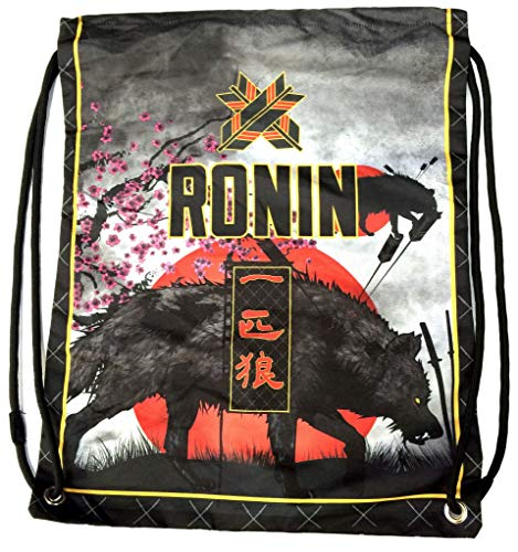 Gi Bag - Perfect to Store Judo, Taekwondo, BJJ or Karate Uniforms Capacity Gi Bag - Lone Wolf Design by Ronin