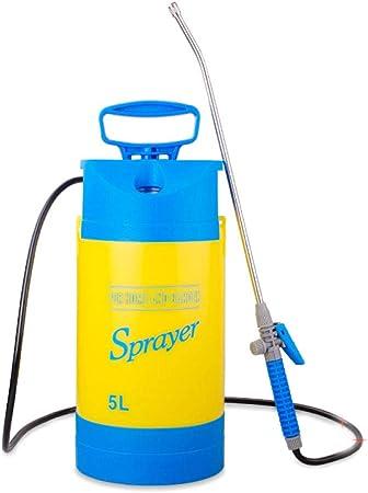 Rociador De Jardín De Mano para Productos Químicos De Agua Y Pesticidas,B-5L: Amazon.es: Hogar