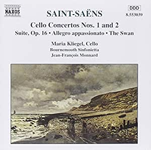 Saint-Saens: Cello Concertos Nos. 1 and 2 / Suite, Op. 16   / Allegro Appassionato / The Swan