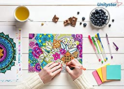 120 Color Gel Pens Set, UnityStar Gel Pens for Coloring Including 60 Unique Colored Gel Pens & 60 Ink Refills, Unique Colors Perfect for Adult Coloring Books, Kid Drawing,Writing,Art Markers