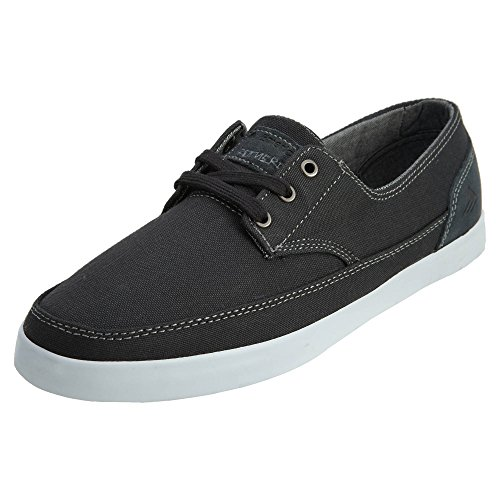 Emerica Men's Troubadour Low Skateboarding Shoe,Dark Grey/White,11 M US