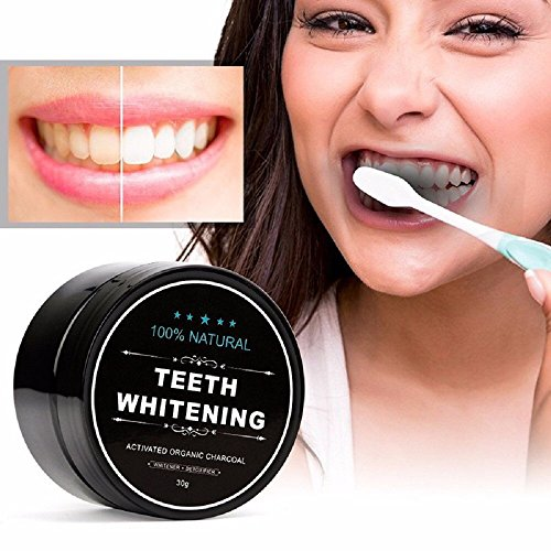 Dr Kao Teeth Whitening Activated Charcoal Powder Teeth Whitening Powder Made with Organic Coconut Shell and Food Grade Formula