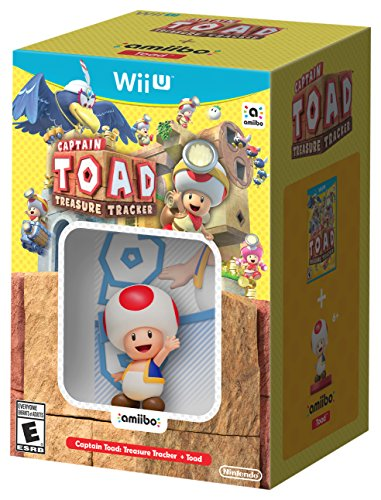 Captain Toad: Treasure Tracker + Toad amiibo - Wii U