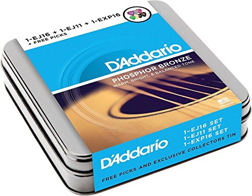 DAddario Acoustic Sampler Strings Variety product image