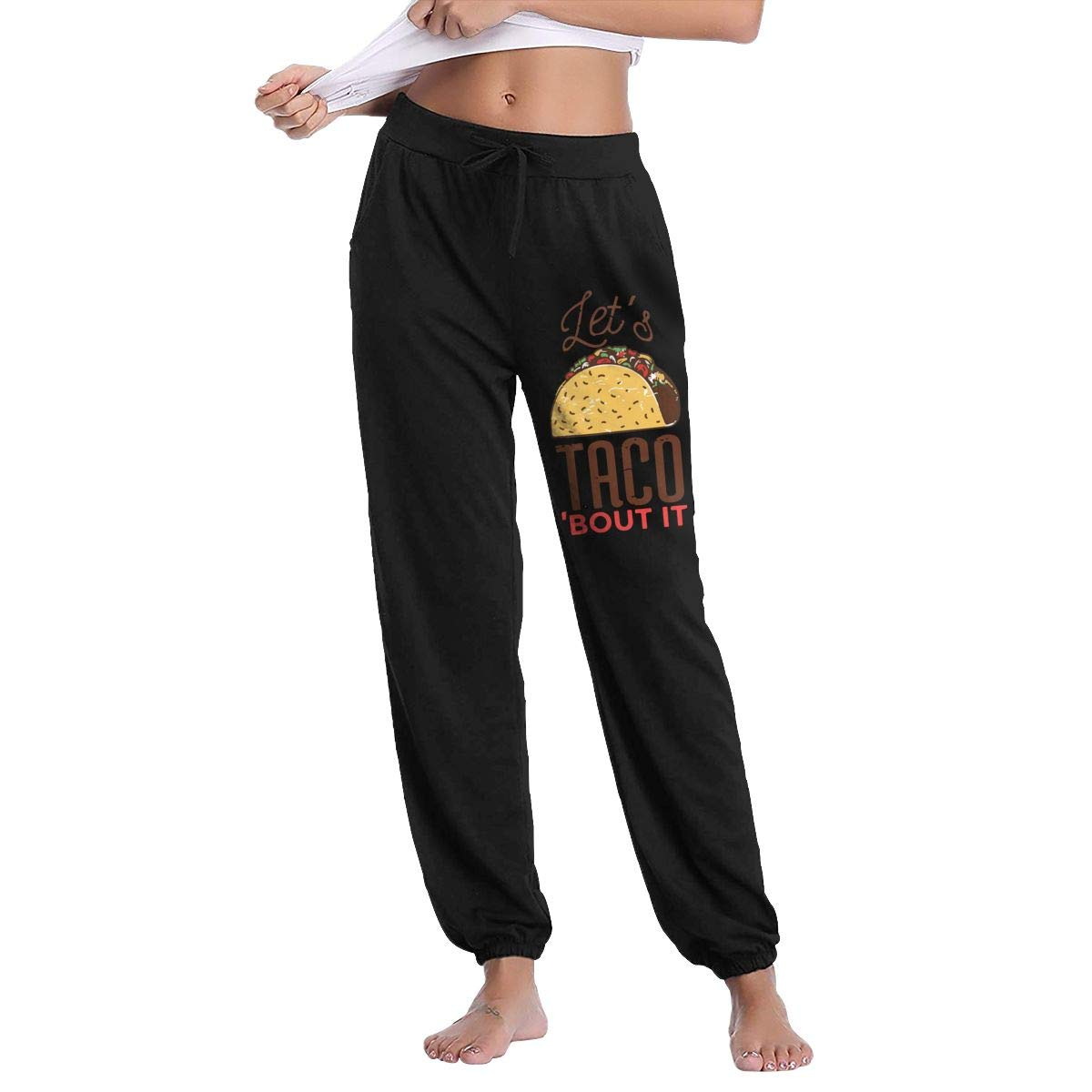 NICKCAT Let Taco Womens Comfy Long Trousers for Yoga ...