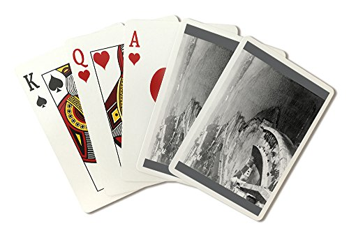 Havana, Cuba Harbor with part of Morro Castle Photograph (Playing Card Deck - 52 Card Poker Size with Jokers)