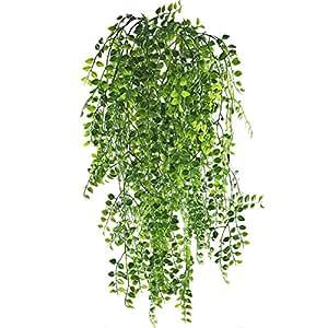 Mihounion 2 pcs plantas enredaderas artificiales exterior for Plantas artificiales para exterior