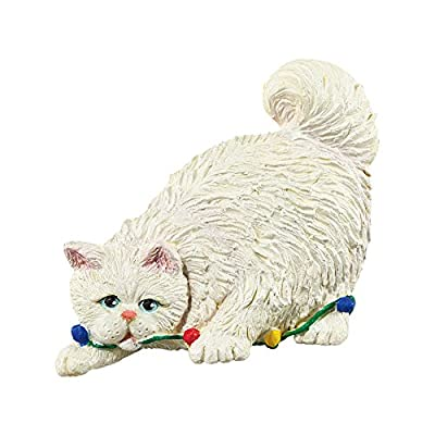 amazoncom department 56 christmas vacation giftware cat magnet home kitchen