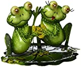 Regal Art & Gift Frog Decor Holding Hands