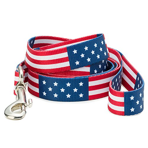 American Flag Dog Leash (Large) by Dog Karma