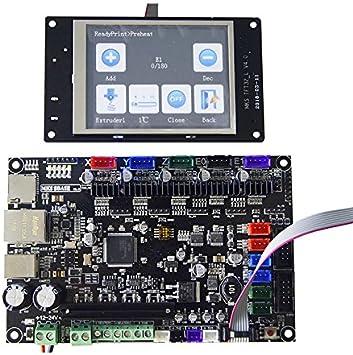 TOOGOO Base de MKS 3D Impresora 32bit PCB MKS SBASE V1.3 + ...