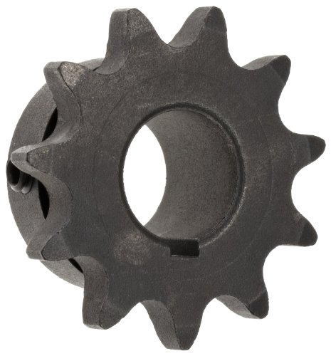 Martin Roller Chain Sprocket, Bored-to-Size, Type B Hub, Single Strand, 40 Chain Size, 0.5'' Pitch, 45 Teeth, 1.25'' Bore Dia., 7.45'' OD, 3.5'' Hub Dia., 0.284'' Width by Martin