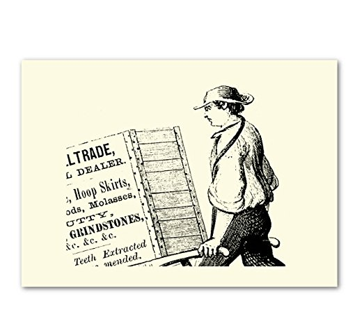 HAND MADE CARDS - K Designs Artist Designed Quirky, Odd & Interesting Vintage Advertising Series