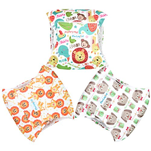 Image of Paw Legend Washable Dog Belly Wrap Diapers for Male Dog (3 PACK,Miracle,XS)