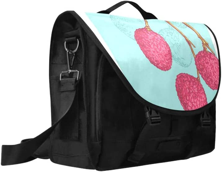 Womens Briefcase Laptop Chinese Delicious Lychee Multi-Functional Laptops Bags Fit for 15 Inch Computer Notebook MacBook