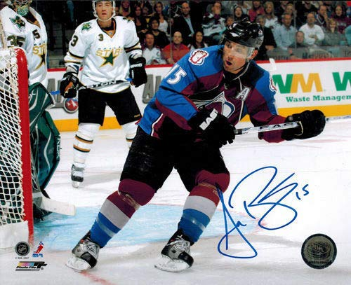 Andrew Brunette Signed/Autographed Colorado Avalanche 8x10 Photo