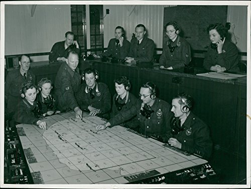 Vintage photo of RAF-The Royal celebrates its Silver Jubilee