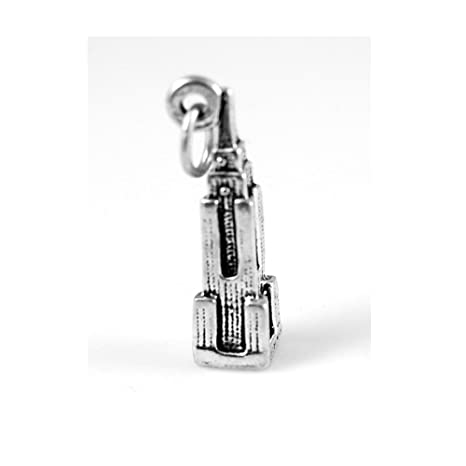 STERLING SILVER EMPIRE STATE BUILDING NEW YORK CHARM