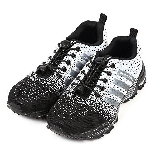 ティーンエイジャーユーモラスサーバUnited Prime ランニングシューズ 結ばない靴紐 Keep running 2018 AWモデル