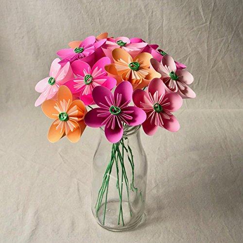 Pink Blush Origami Flower Bouquet