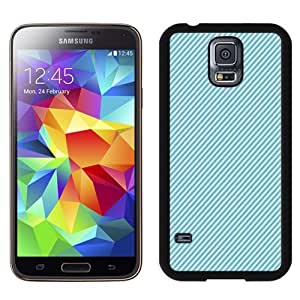 New Personalized Custom Designed For Samsung Galaxy S5 I9600 G900a G900v G900p G900t G900w Phone Case For Blue Fabric Stripes Phone Case Cover