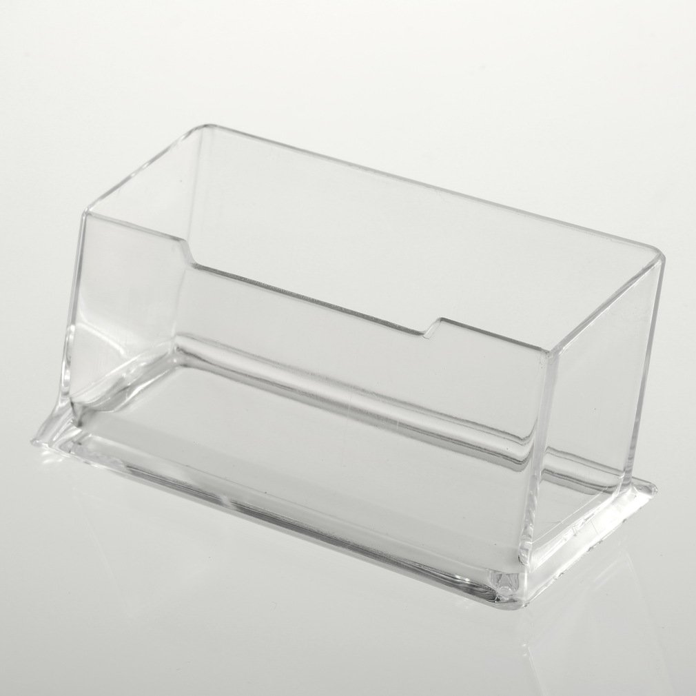 YKS-T9 New Clear Desktop Business Card Holder Display Stand Acrylic ...