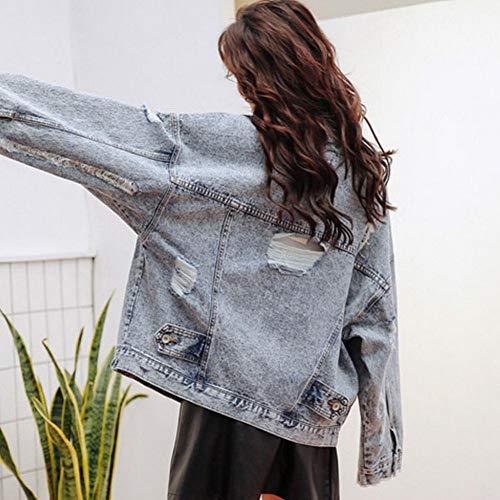 neve autunno giacca da da donna e Foto CWJ fiocchi colori jeans da giacca di Giacca da primavera uomo a giacca X1xvgpq