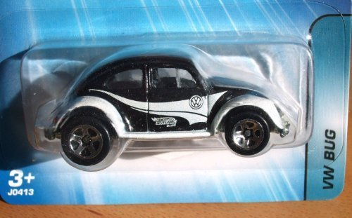 2005 Hot Wheels Kar Keepers Exclusive VW Bug Black/White #184