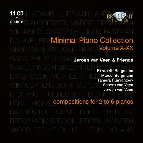 Minimal Piano Collection, Vol. X-XX: Jeroen van Veen & - Usa Glasses Online Buy