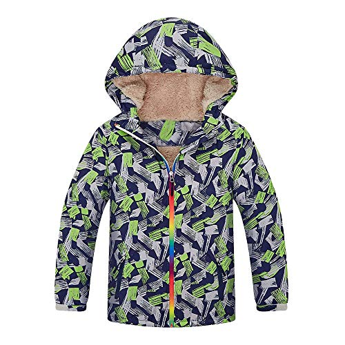 Price comparison product image Outdoor Waterproof Coats, G-Real Toddler Infant Baby Boys Girls Hoodie Wadded Jacket Outfits