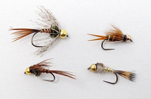 Moonlit - 24 Nymphing Flies Combo - barbless beadhead Nymphs
