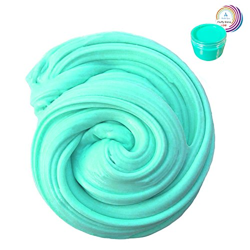 Fluffy Slime - 7 OZ Jumbo Scented Sludge Slime Stress Relief Toy for Kids and Adults, Super Soft & Non-sticky, Children Arts Crafts Party School Supplies by Wonder Space (Easy Diy Dragon Costume)
