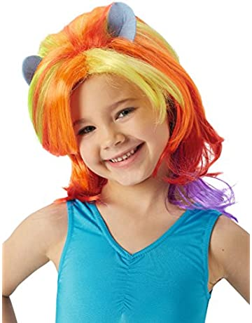 50d5021bc Rubie's Official My Little Pony Rainbow Dash Wig Child's Fancy Dress  Accessory (One Size)