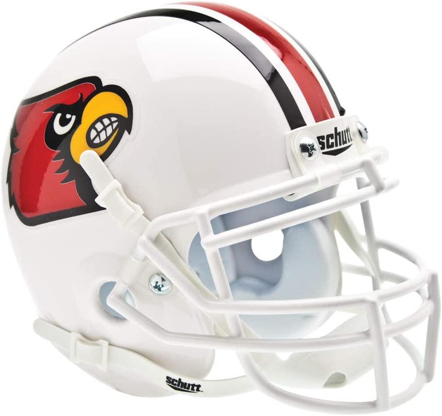 Schutt NCAA Louisville Cardinals Mini Authentic XP Football Helmet
