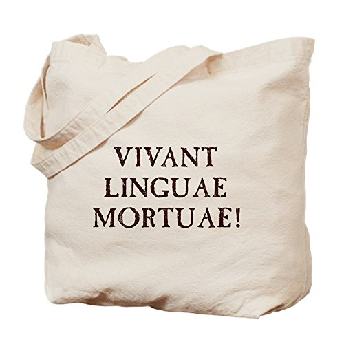 CafePress–Long Live Dead idiomas–Latina–Gamuza de bolsa de lona bolsa, bolsa de la compra