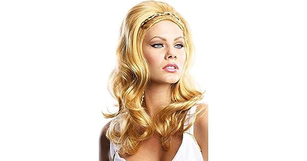 Amazon.com: Rubie s Disfraz Adulto de la mujer Venus rubia ...