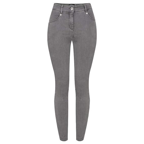64630992770 Robell Trousers - Star Power Stretch Skinny Jean, Dark Grey: Amazon ...