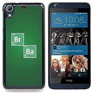 """Qstar Arte & diseño plástico duro Fundas Cover Cubre Hard Case Cover para HTC Desire 626 (Br Ba Química sesión"""")"""