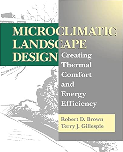 Microclimatic Landscape Design Creating Thermal Comfort And