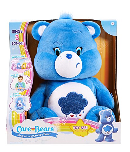 Price comparison product image Care Bears Grumpy Sing-a-Long Bear Plush