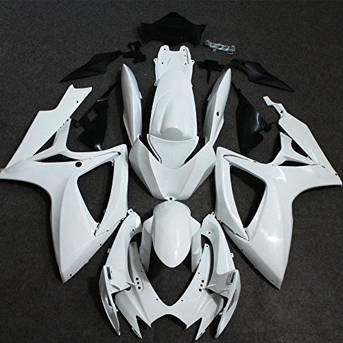 ZXMOTO Unpainted Fairing Kit for Suzuki GSXR 600 750 K6 (2006-2007)
