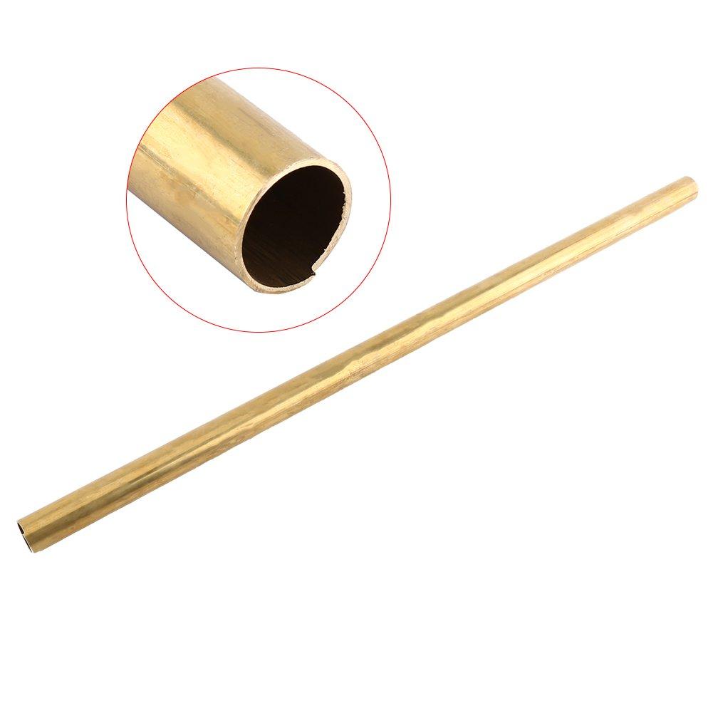 1pc Tubo de Lató n Redondo Tubo de Lató n Hueco 50cm de Longitud 0.6-2cm Diá metro Exterior (6mm) Walfront RLSB4893