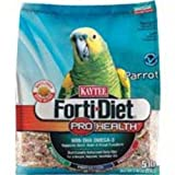 Kaytee Forti Diet Pro Health Food with Safflower for Parrots, 5-Pound Bag, My Pet Supplies