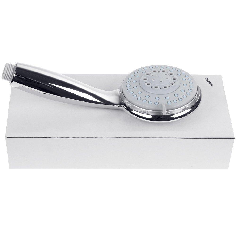 Rovtop Douchette Pommeau de Douche 4 Modes de l/'Eau Douchette de massage Douchette /à main Douchette amovible T/ête de douche