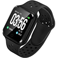 WAFA Fitness Tracker with Heart Rate Blood Pressure Monitor, Waterproof Fitness Watch, Bluetooth Smart Watch with Sleep…