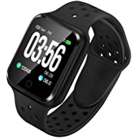 WAFA Fitness Tracker with Heart Rate Blood Pressure Monitor, Waterproof Sports Smart Watch, Bluebooth Smart Bracelet…