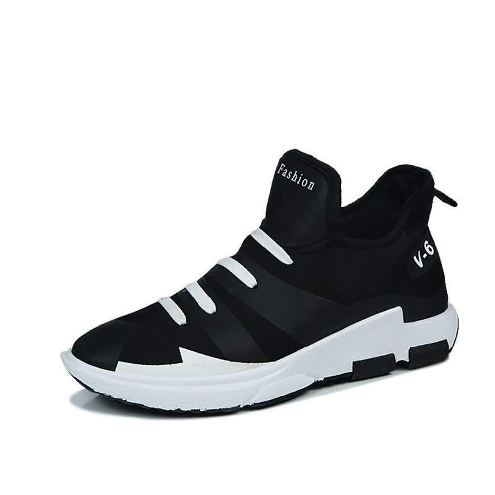 Oudan 2018 Die Athletischen Turnschuhe der Männer Sind Nicht zufällig zufällig zufällig mit Einer Pedal-Persönlichkeit zu Den haltbaren Sport-Schuhen (Farbe   Weiß, Größe   44 EU) (Farbe   Schwarz, Größe   39 EU) f5353d
