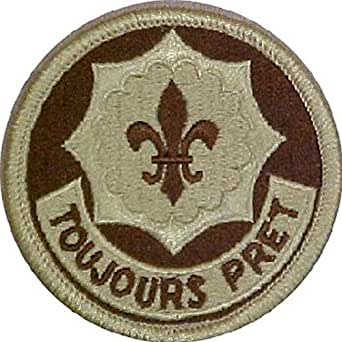2nd ACR (Armored Cavalry Regiment) Desert Patch