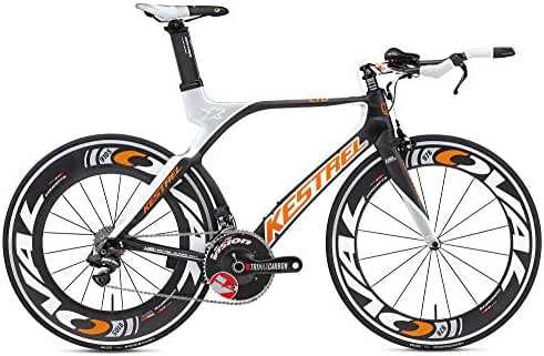 2012 Kestrel 4000 LTD Di2 3125115457 Carbon Orange 57.5CM Road Bike